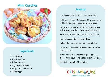 easy mini quiches recipe