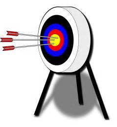 Target Archery Arrows Clip Art