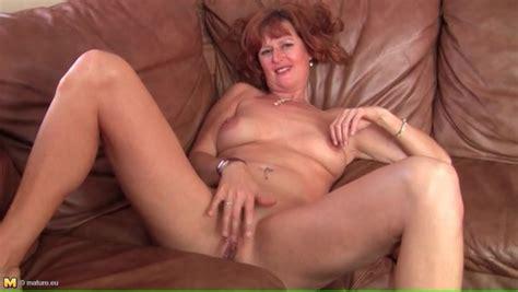 Naked Solo Mature Redhead Masturbates Pussy Mature Porn
