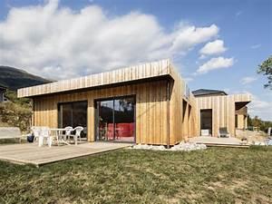 Maison écologique En Kit : pop 39 up house une maison bois en kit cologique et design ~ Dode.kayakingforconservation.com Idées de Décoration