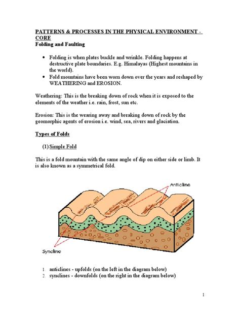 Folding And Faulting Mountains Fault Geology