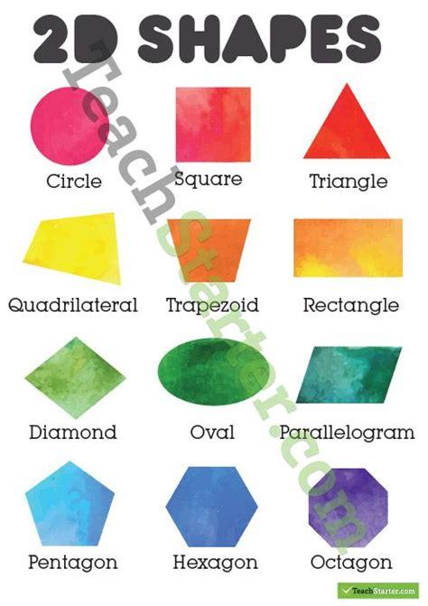 shapes poster colour shape posters shapes