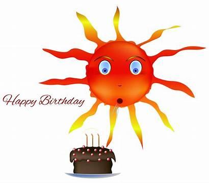 Birthday Happy Sun Solar Return Cake Reading