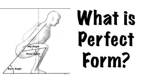 what is perfect form squat bench press deadlift and