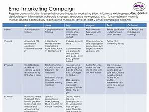 global fitness media plan final With military campaign plan template