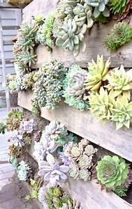 le mur vegetal en palette idees originales pour un With idee deco exterieur jardin 0 un jardin vertical en palettes joli place