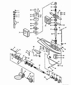 Marine Parts Plus Force Serial 125 H P  1989 Fob4282 1289