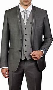Costume 3 Pièces Gris : costume gris clair 3 pi ces simple facile reporter pour votre mariage proche aix et marseille ~ Dallasstarsshop.com Idées de Décoration