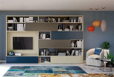 libreria salotto e soggiorno le librerie componibili da soggiorno 20 modelli con tante
