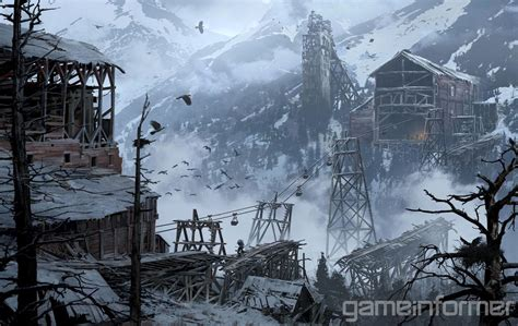 Ominous Beauty Exclusive Rise Of The Tomb Raider Concept