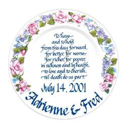 engraved platter personalized wedding anniversary gifts