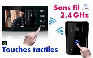 Visiophone Sans Fil Castorama : interphone portier video visiophone sans fil ecran couleur ~ Dailycaller-alerts.com Idées de Décoration