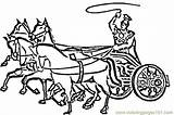 Chariot Coloring Italian Roman Colouring Chariots Italy Printable Sketch Children Printables Template Coloringpages101 Searches Recent Printablecolouringpages sketch template