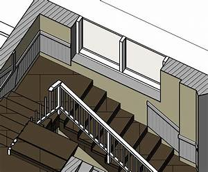 How, To, Create, Railings, Along, Stairs, That, Stops, At, A, Window