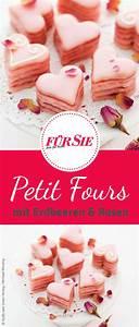 Valentinstag Kuchen In Herzform : erdbeer rosen petits fours valentinstag valentinstag backen s igkeiten kuchen und ~ Eleganceandgraceweddings.com Haus und Dekorationen