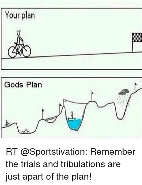Gods Plan Meme - your plan gods plan rt remember the trials and tribulations are just apart of the plan god