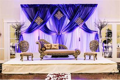 Stage Decoration Reception Indian Decorations Decor Backdrop