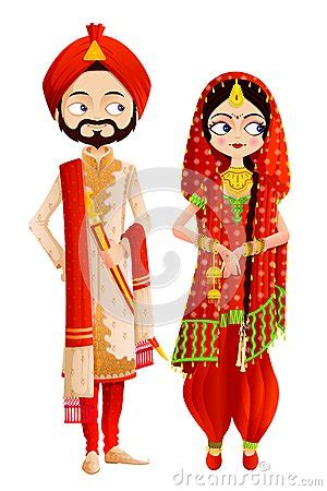 sikh wedding couple royalty  stock images image