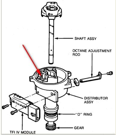 Ford F 150 Distributor Diagram by What Would Make A 1990 F 150 With A 302 5 0 Bog And