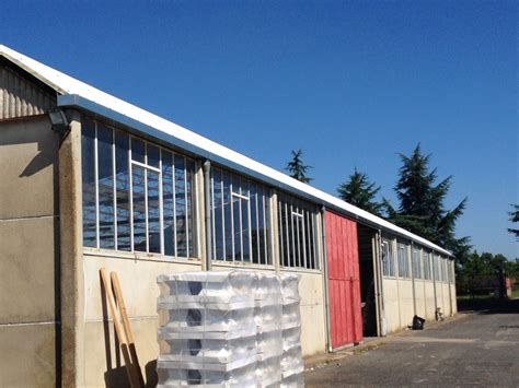 controsoffitto coibentato rimozione copertura e controsoffitto in cemento amianto vt