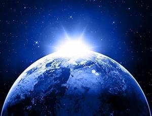 Earth planet stars space sunlight g wallpaper | 5500x4200 ...