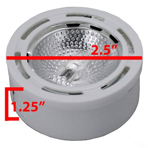 12v halogen cabinet puck light cph1 by aql