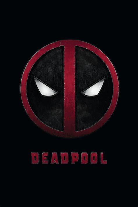 deadpool iphone wallpaper deadpool logo iphone wallpaper hd