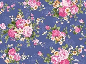 18+ Vintage Floral Wallpapers | Floral Patterns ...