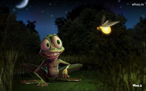 Free Animated Frog Wallpaper - frog entertaining 3d animated hd wallpaper