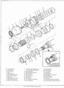 K10 Front Hub Exploded View Diagram - The 1947