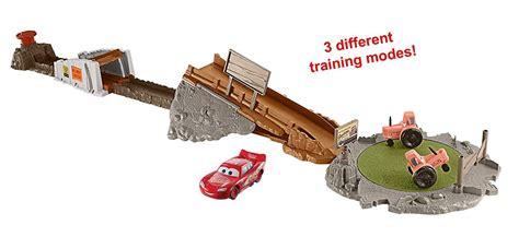 disney toys fan challenges amazon com disney pixar cars smokey 39 s tractor challenge