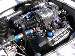 Cobra 1uzfe Engine Bay