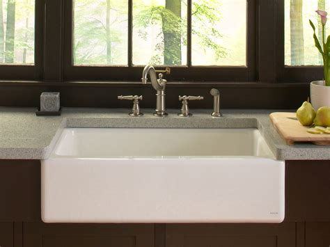 kohler dickinson farmhouse sink standard plumbing supply product kohler k 6546 4u 0