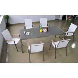 Table De Salon De Jardin Pas Cher : salon de jardin pas cher madrid mobilier jardin aluminium ~ Dailycaller-alerts.com Idées de Décoration