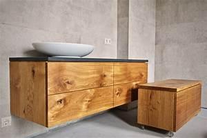 Badschrank Holz Massiv : badm bel f r 39 s badezimmer bauen lassen m bel aus ~ A.2002-acura-tl-radio.info Haus und Dekorationen
