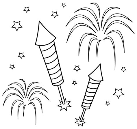firework clipart black and white fireworks clipart free images pictures 2018