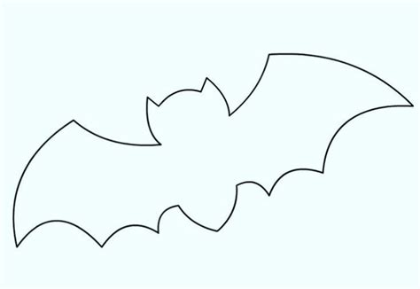 flying bat template printable hanging bat template to print for
