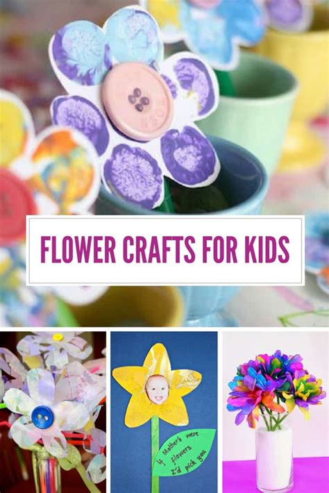 fabulous flower crafts  moms  love  receive
