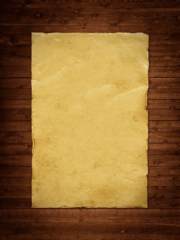 paper sheet  wooden backgroound stock photo