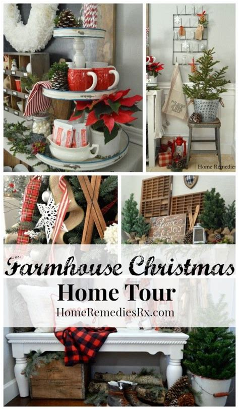 ideas  farmhouse christmas decor  pinterest