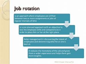 Chapter 3 job analysis strategic planning job for Job rotation program template