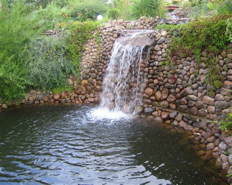 Diy Outdoor Pond Waterfall