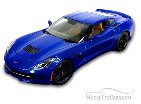 Chevy Corvette Stingray Blue Maisto 31677 1 18 Scale