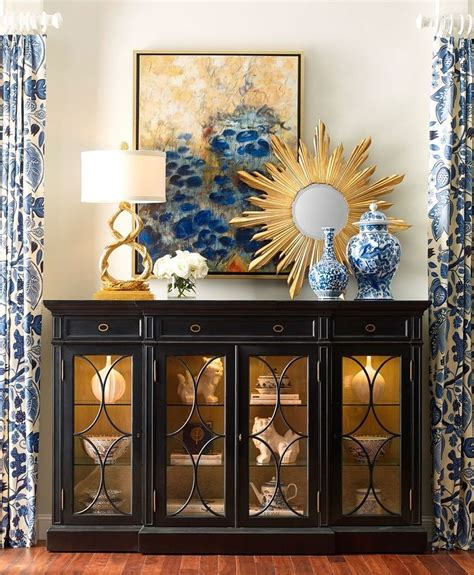 delightful display accessory vignettes dining room