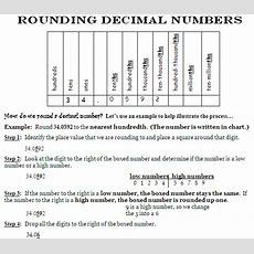 Miss Kahrimanis's Blog Rounding Decimal Values