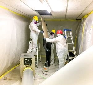 expect   asbestos abatement process