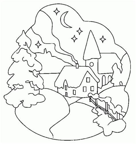 Winter Coloring Pages Winter Coloring Pages Printable
