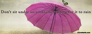 Dont Sit Under ... Wedding Umbrella Quotes