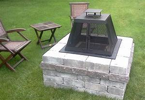 construire un foyer exterieur en pierre maison design With construire un foyer exterieur en pierre