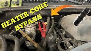 How To Bypass A Heater Core - Silverado - Sierra